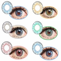 Cupid 3 Tone Coloured Contact Lenses