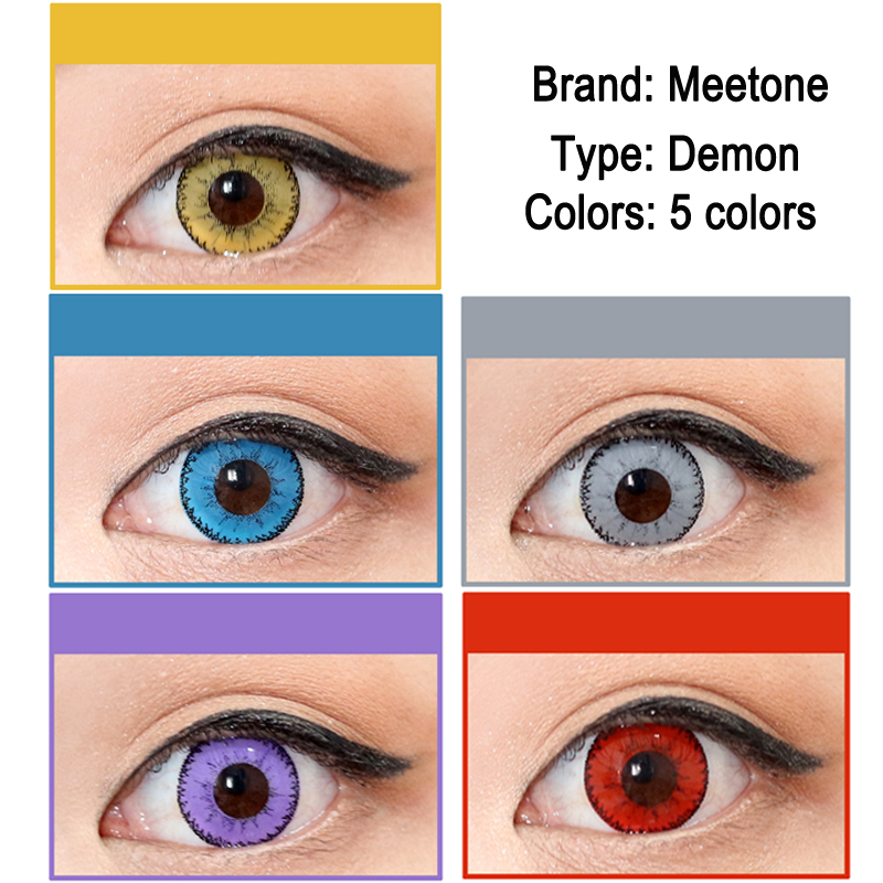 Demon Coloured Contacts