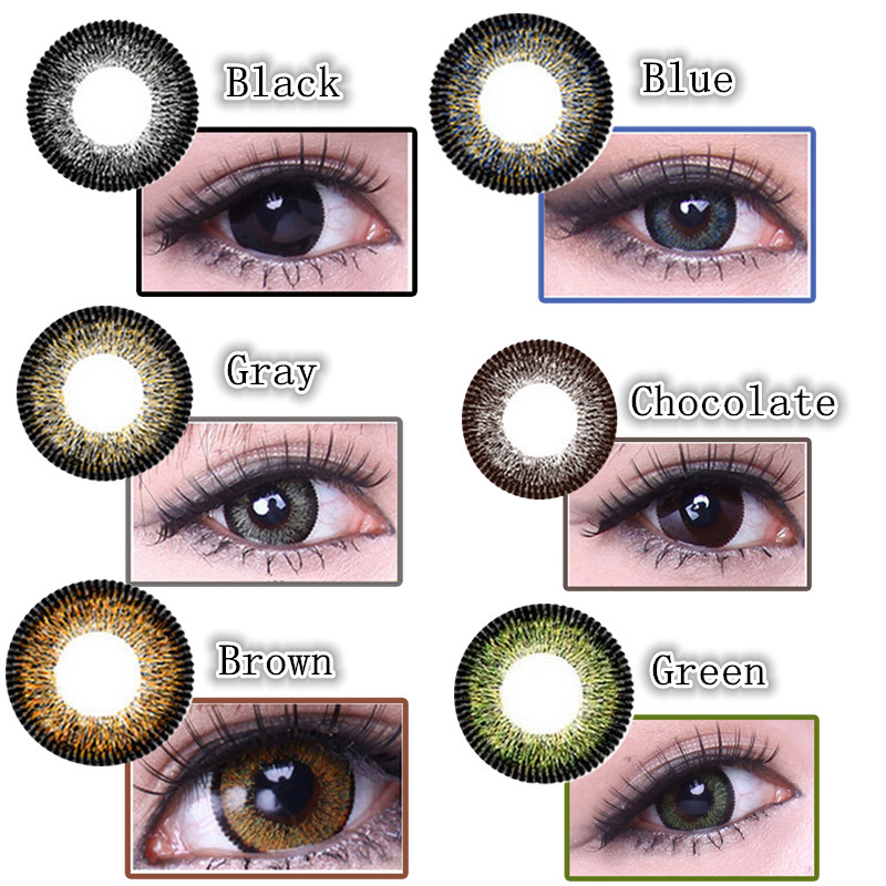 VIVI 3Tone Coloured Contact Lenses
