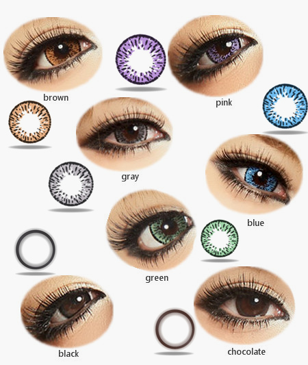 Kilala Popcorn Big Eye Circle lenses