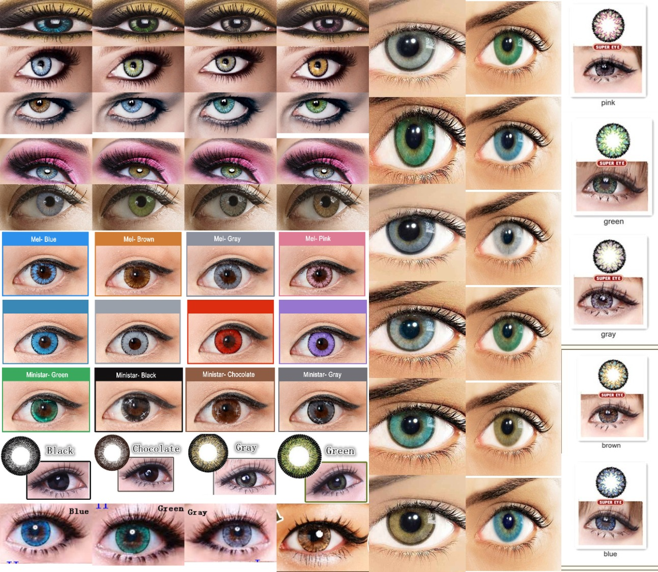 Coloured & Crazy Contacts
