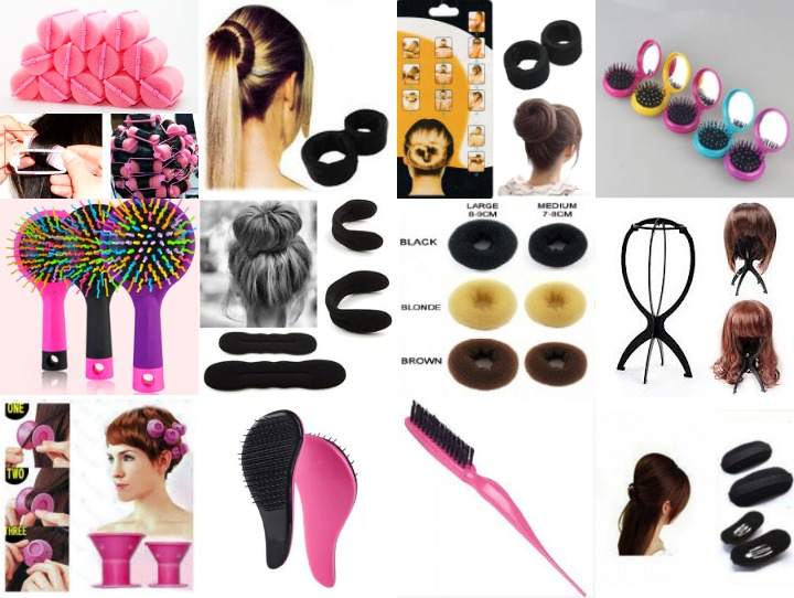 HAIR BRUSHES & TOOLS