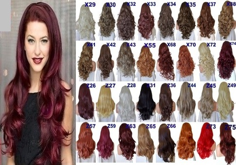 Half wigs hair extensions hair pieces quick clipin half wig 34 wig fall pmusecretfo Images