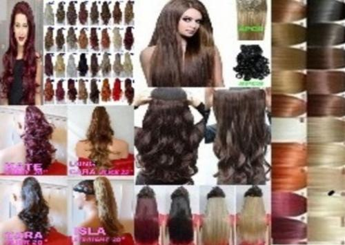 Hair Extensions & Half Wigs
