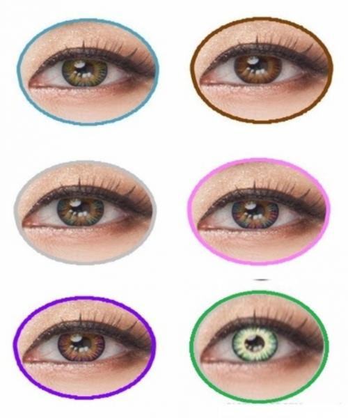 GISELLE RAINBOW EYES 3 TONE