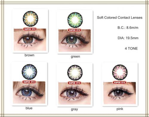 Big eye 4 Tone contact lenses