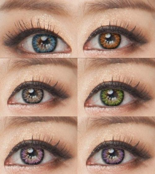 Vassen 3 Tone Coloured contacts