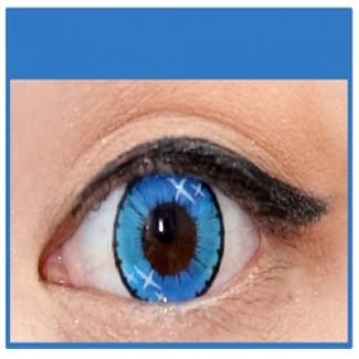 7d28396a452 BLUE Coloured Contact Lens Ministar 4 tone