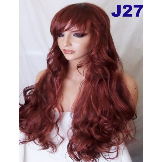 Rusty Red Wig