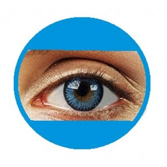 Blue Coloured Contact Lenses