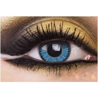 e6890e9d6897 BLUE Year Usage Coloured Contact Lenses Lens Chanel 2 Tone Coloured  Cosmetics