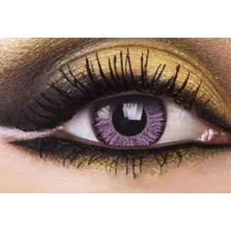 VIOLET Colored Cosmetic Contact Lenses Chanel 2 Tone - 1 Year (Pair)