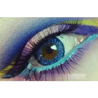 Royal Blue Contact Lenses 1 Year