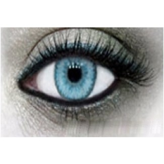 BLUE Cosmetic Contact Lenses Cutie 2 Tones - 1 Year (Pair)