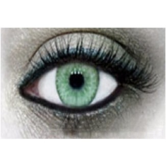 GREEN Cosmetic Contact Lenses Cutie 2 Tones - 1 Year (Pair)