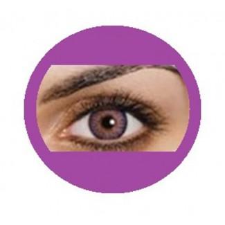 Violet Natural Contacts