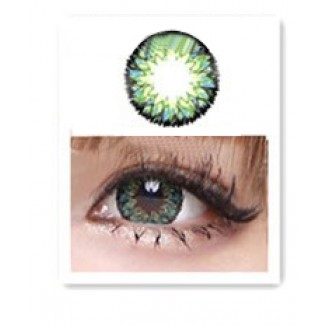 Green Contact Lenses 1 Year