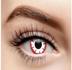 Demon 3FOR2 DEAL ALL CONTACTS Fancy Dress Crazy Halloween Contact Lenses Lens 12 Month wear (2 lenses)