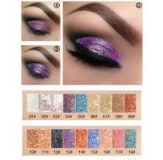 Pudaier Glitter Diamond Shimmer Eyeshadow Liquid Eye Shadow Beauty Makeup - 18 SHADES