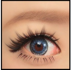 BLUE Coloured contact lenses Cupid - 1 Year (Pair)