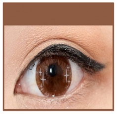 CHOCOLATE Coloured Contact Lens Ministar 4 tone  -1 Year (Pair)