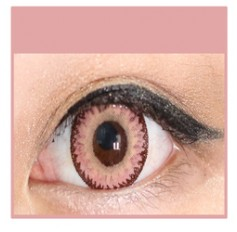PINK Cosmetic Coloured Contact Lenses Dodo - 1 Year (Pair)