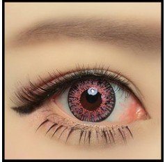 RED Coloured contact lenses Cupid - 1 Year (Pair)