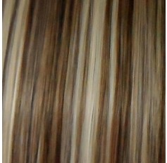 Med Brown highlight Blonde #6/613