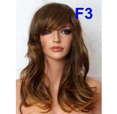 Brown Auburn Mix Wig