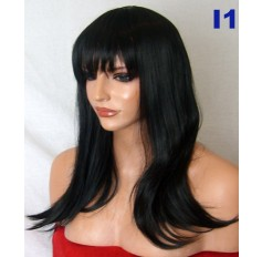 Black Wig | Hair pieces | Clip in Hair extensions | Quickclipinhairextensions.co.uk