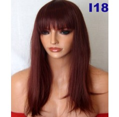 Red Brown Wig