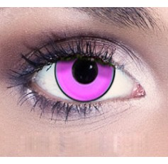 Hot Pink contact lenses | Contact lens solution