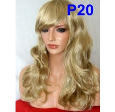 Light Ash Blonde Wig