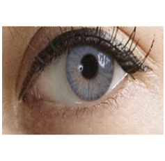Brilliant Blue Contact Lenses 1 Year