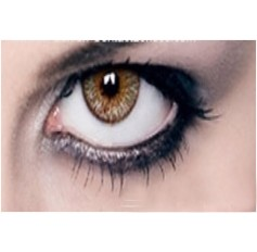 AMBER Coloured Contact Lenses Chanel 3 Tones - 1 Year (Pair)