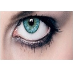 COLBALT TURQUOISE blue Coloured Contact Lenses Chanel 3 Tones - 1 Year (Pair)