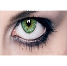 GREEN Year Usage Coloured Contact Lenses Lens Chanel 3 Tone Coloured Cosmetics