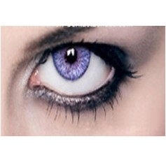 VIOLET Year Usage Coloured Contact Lenses Lens Chanel 3 Tone Coloured Cosmetics
