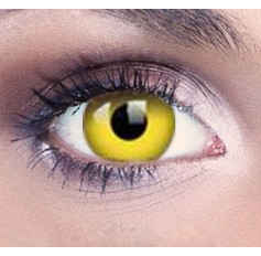 Yellow Drama Contact Lenses 1 Year