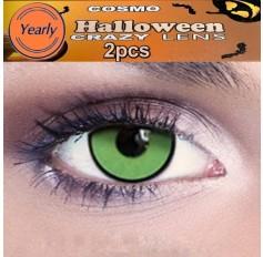Green Haruno Sakura Fancy Dress Crazy Halloween Contact Lenses Lens 1 YEAR