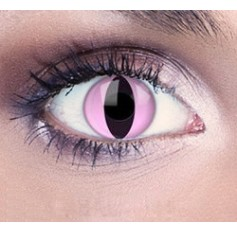 Pink Cat Eye Contact Lenses 1 Year