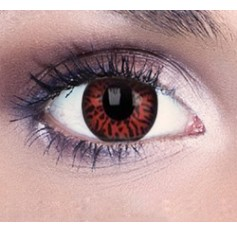 Red Bella Vampire Contact Lenses 1 Year