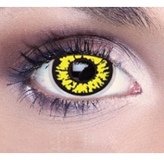 Black wolf contact lenses | Free solution | Quickclipinhairextensions.co.uk