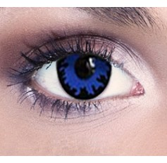 Blue Wizzard contact lenses | Free solution | Quickclipinhairextensions.co.uk
