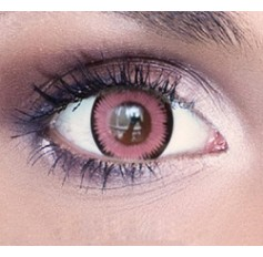 Pink Banshee Contact Lenses 1 Year