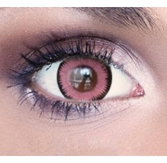 Pink Enchanted contact lenses | Contact lens solution | Quickclipinhairextensions.co.uk