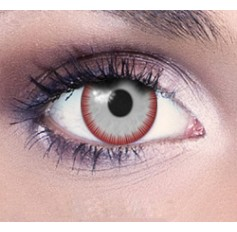 Blood eye Halloween contact lenses 1 year
