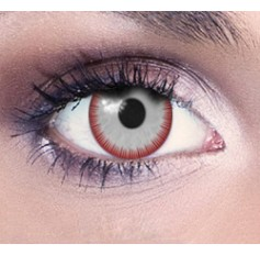 Carrie white blood contact lenses 1 year