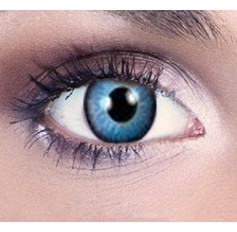 Pixie blue contact lenses 1 year