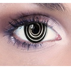 Psycho Black Contact Lenses 1 Year